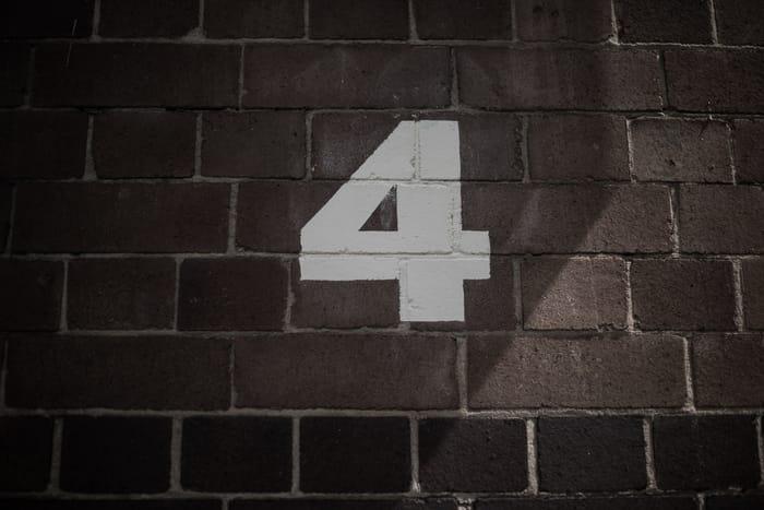Significado espiritual do número 4