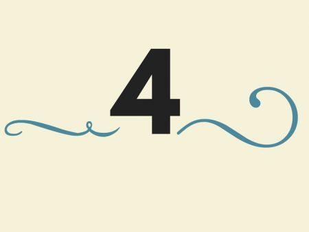Significado do Número 4 na Numerologia: Vou ter sorte no dinheiro?