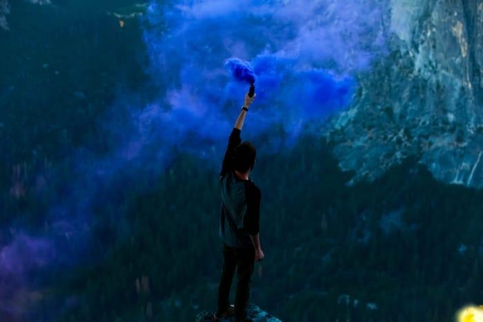 Quais são os benefícios que a cor azul índigo lhe pode trazer?