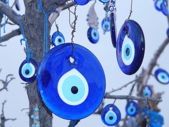 Amuleto do Olho Grego